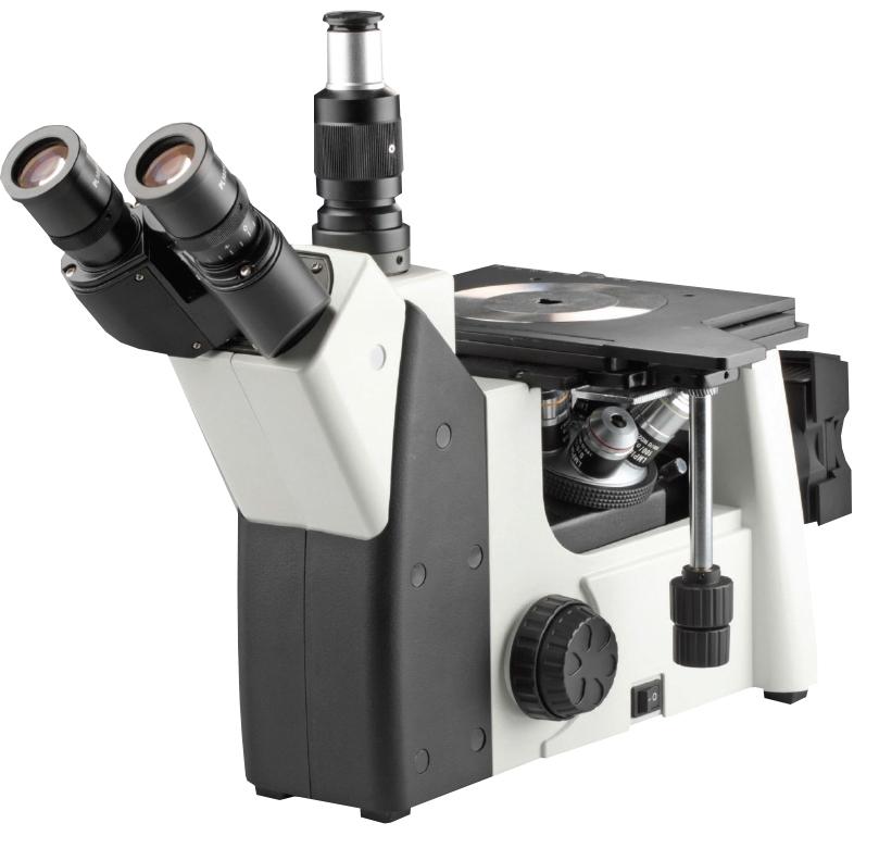 Trinocular Inverted Metallurgical Microscope