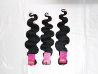 Indian Raw Machine Weft Single Drawn Natural Body Wave Human Hair Bundle