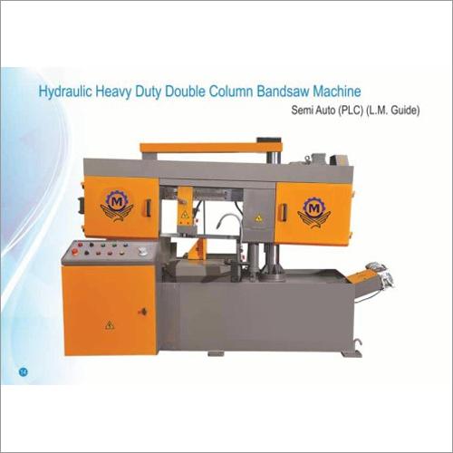 Double Column Semi Automatic Bandsaw Machine