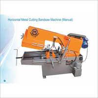 Horizontal Metal Cutting Bandsaw Machine (Manual)