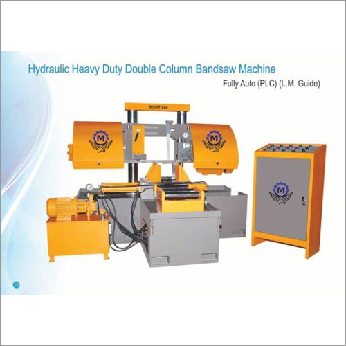 MSMT 300 Hydraulic Heavy Duty Double Column Bandsaw Machine