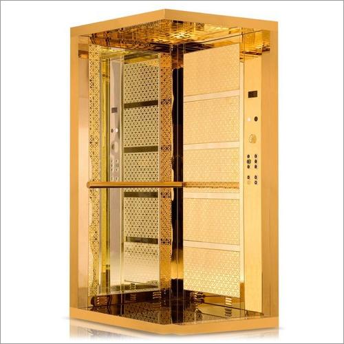 Golden Stainless Steel Elevator Installation Services