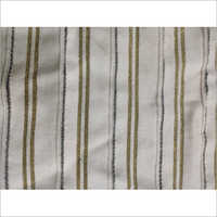 Flat Knit Dyed With Lurex Fabric