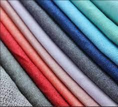 Cotton stretch denim fabric