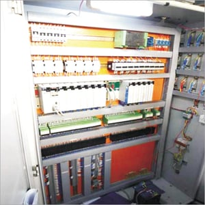 PLC And Relay Based Control Panel