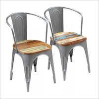 Metal Frame Multicolour Chair