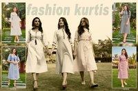 Vitara Fashion By Eliza-2 Cotton Kurtis Catalogue