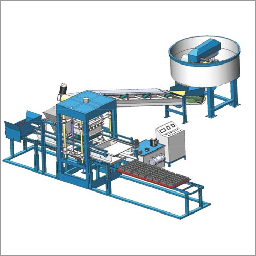 Industrial Automatic Fly Ash Brick Machine
