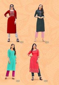 Fashion Dream Vol 1 Kurti With Pant Pair Catalogue