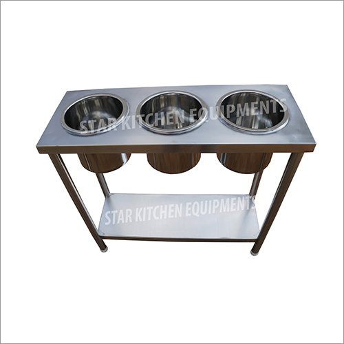 Stainless Steel Dosa Work Table