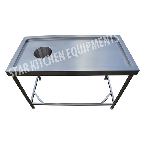 Stainless Steel Kitchen Chute Table