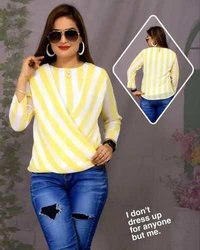 Balloon style georgette top