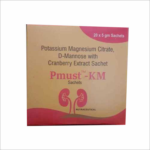 Potassium Magnesium Citrate , D-Mannose with Cranberry Extract Sachet