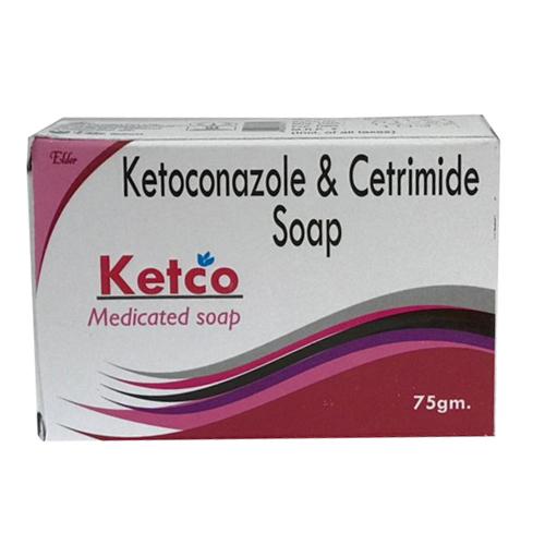 75gm Ketoconazole and Cetrimide Soap