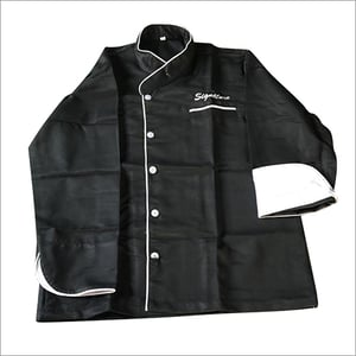 Black Chef Coat