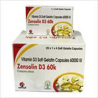 Vitamin D3 Soft Gelatin Capsules