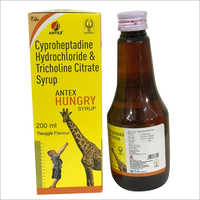 Cyproheptadine Hydrocloride Tricholine Citrate Syrup