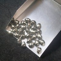 4x6mm Pyrite Rose Cut Pear Loose Gemstones