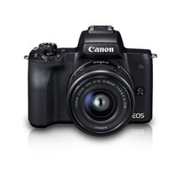 Canon Eos M50 Mirrorless Camera With 15-45 Mm Lens Kit