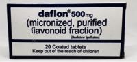 Daflon 500 Mg 20 Tablets