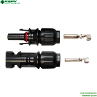 Hot Selling Pv4.0 Waterproof New Type Solar Cable Connector 1000vdc