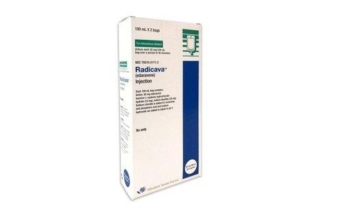 Radicava 30 mg Injection(Edaravone 1.5 mg/ml (30 mg in 20 ml))