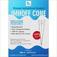 Imhoff cone