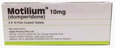 Motilium 10m G 50 Tablets