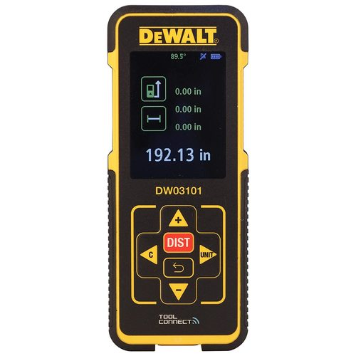 Dewalt Laser Distance Measurer Dw03101