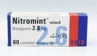 Nitromint Retard 2.6 Mg 60 Tablets
