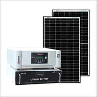 Loom Solar 2 kWh Off Grid Solar System for Homes, with 8-10 Hours Backup