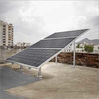 Loom Solar 3 Panel Stand (375 watts) - Horizontal - Stairs design