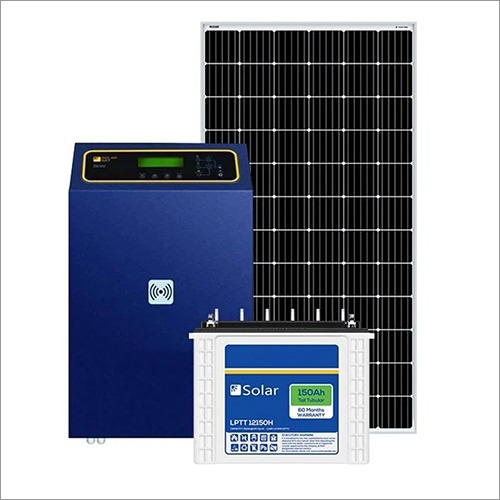 Loom Solar 7.5 kW off Grid Solar Dystem for Offices, Commercial Shops, Factories