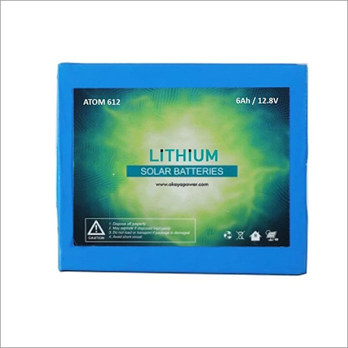 6 Ah - 75 Watt Hour Lithium Battery for Home, Toys and Lighting System