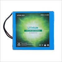 20 Ah - 250 Watt Hour Multipurpose Lithium Battery for Machines, Homes