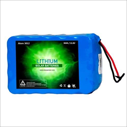30 Ah - 385 Watt Hour Lithium Battery for Home Lighting System