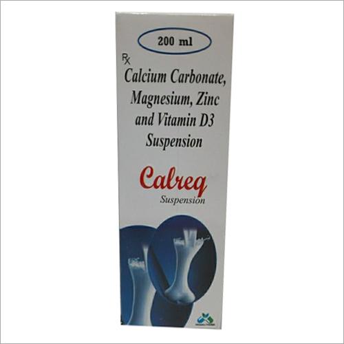 200ml Calcium Carbonate Magnesium Zinc And Vitamin D3 Syrup