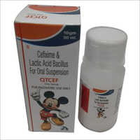 30 ml Cefixime and Lactic Acid Bacillus For Oral Syrup