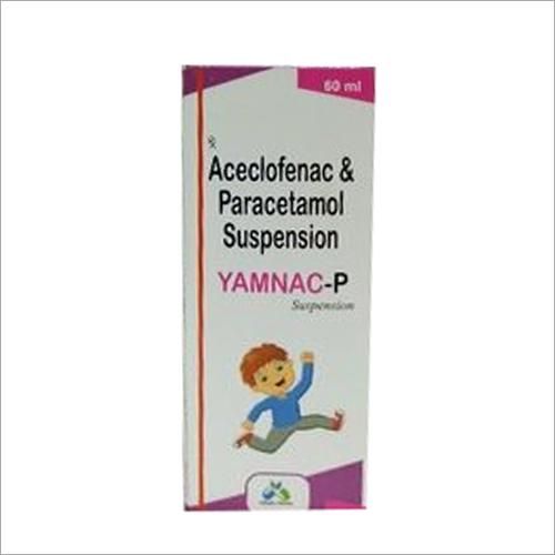 60 ml Aceclofenac Paracetamol Syrup