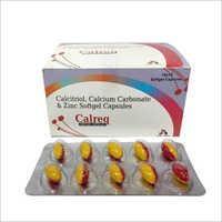 Calcitriol Calcium Carbonate And Zinc Softgel Capsules