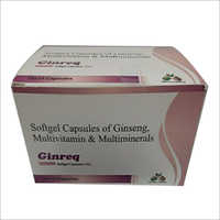 Softgel Capsules Of Ginseng Multivitamin and Multiminerals