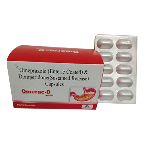 Omeprazole (Enteric Coated) And Domperidone (Sustained Release) Capsules
