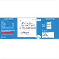 Carbonyl Iron Zinc Vit C Vit B12 And Folic Acid Capsules