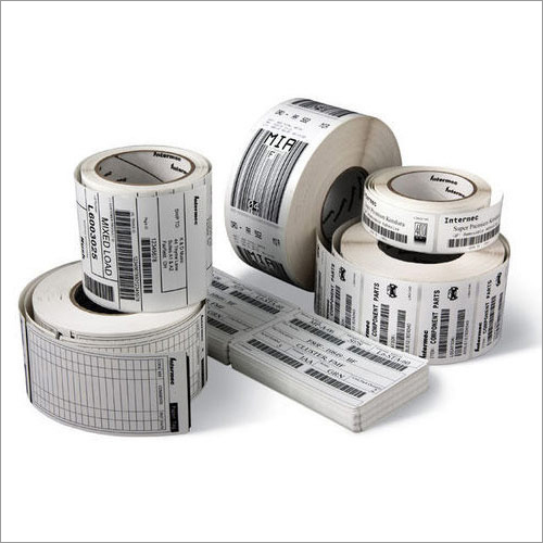 Consumables Printed Barcode Labels