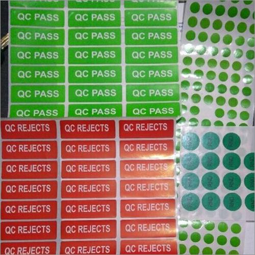 Product QC Labels