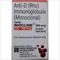 Anti-D (Rho) Immunoglobulin (Monoclonal) 300 Mcg Liquid Injection