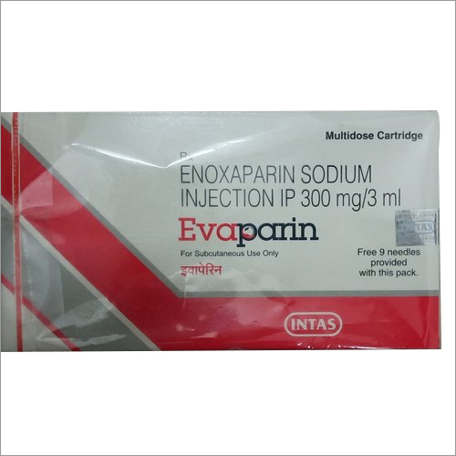 Evaparin 300 mg/3 ml Enoxaparin Injection