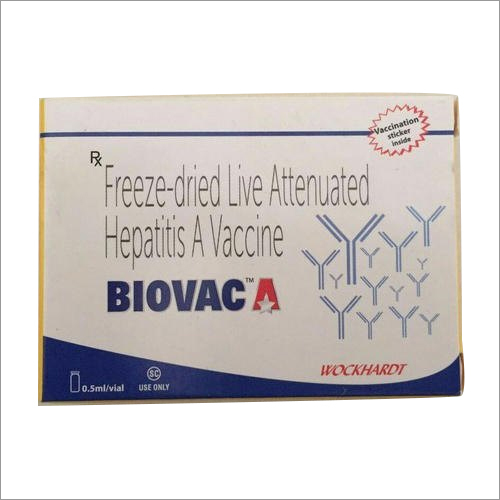 Freeze-Dried Live Attenuated Hepatitis A Vaccine