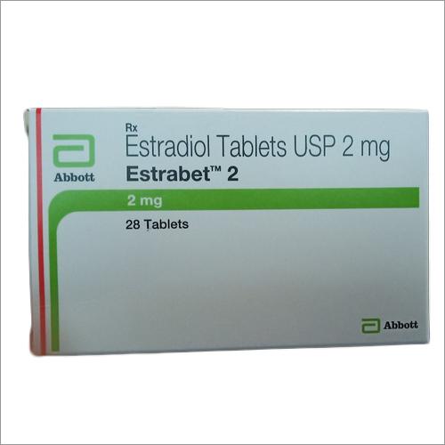 Estradiol Tablets USP 2 Mg