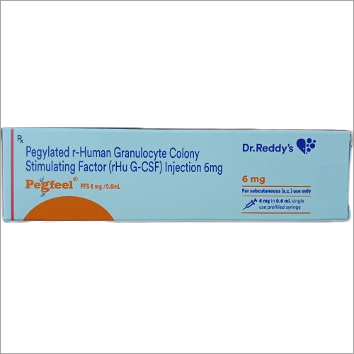 Pegylated r-Human Granulocyte Colony Stimulating Factor Injection 6 mg